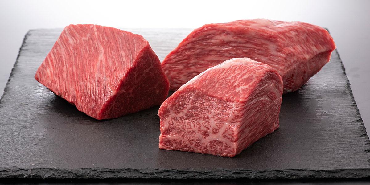 若狭牛のブロック | 牛若丸精肉店