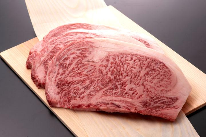 若狭牛特上サーロインステーキ 500g  (250g/2枚)目安 | 牛若丸精肉店