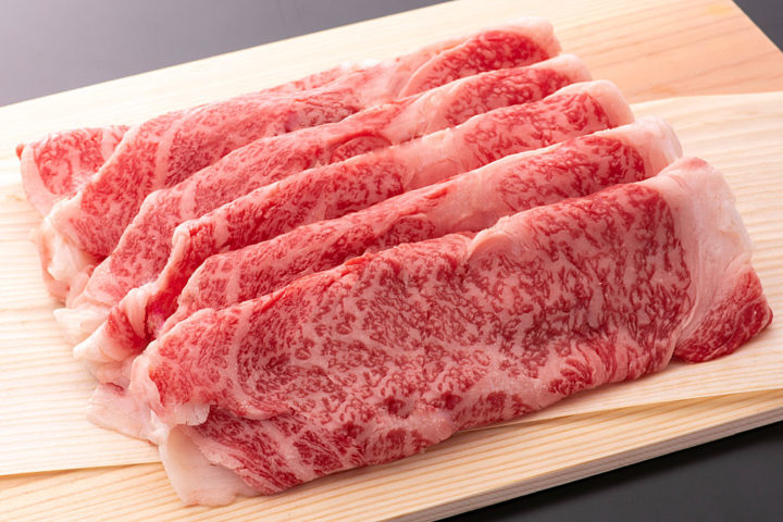 若狭牛 特上リブロースすきやき用 400g | 牛若丸精肉店